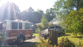 Units responded to this house fire in Mill Point Shores on Sunday Morning.