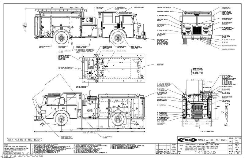 2003 Pierce Dash Engine For Sale Mechanicsville Volunteer Fire