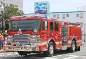 The New Engine 23 that was delivered and went into service in 2016.