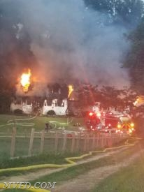 Mechanicsville and surrounding companies operated at this first due house fire.