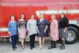 Chaplain, Peggy Guy; Secretary, Meghanne Thompson; Vice President, Cindy Turner; President, Molly Colonna; Assistant Secretary, Jackie Turner; Historian, Karen Gibson.