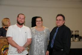 New Auxiliary members:  Billy Coberly and Keith Turner with Auxiliary Vice President Cindy Turner.