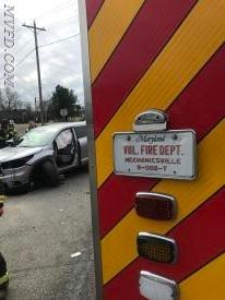 "Mechanicsville Units operated at this MVA that required a ""door pop"" for patient removal."
