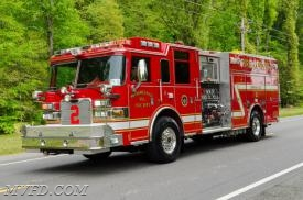 Rescue Engine 22 - Image Courtesy of Tony Codespote.  Driver:  J. Paul Colonna