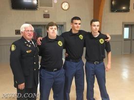 Mechanicsville's Next Generation Firefighters