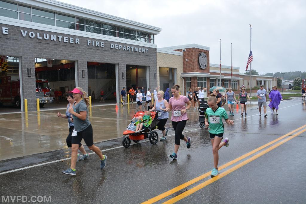 Mechanicsville Volunteers Hold 2nd Annual 5K Run/Walk