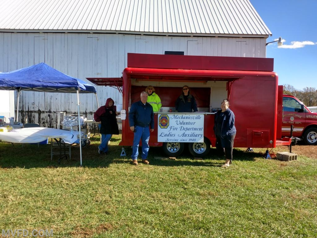Another Successful Weekend for the MVFD Auxiliary