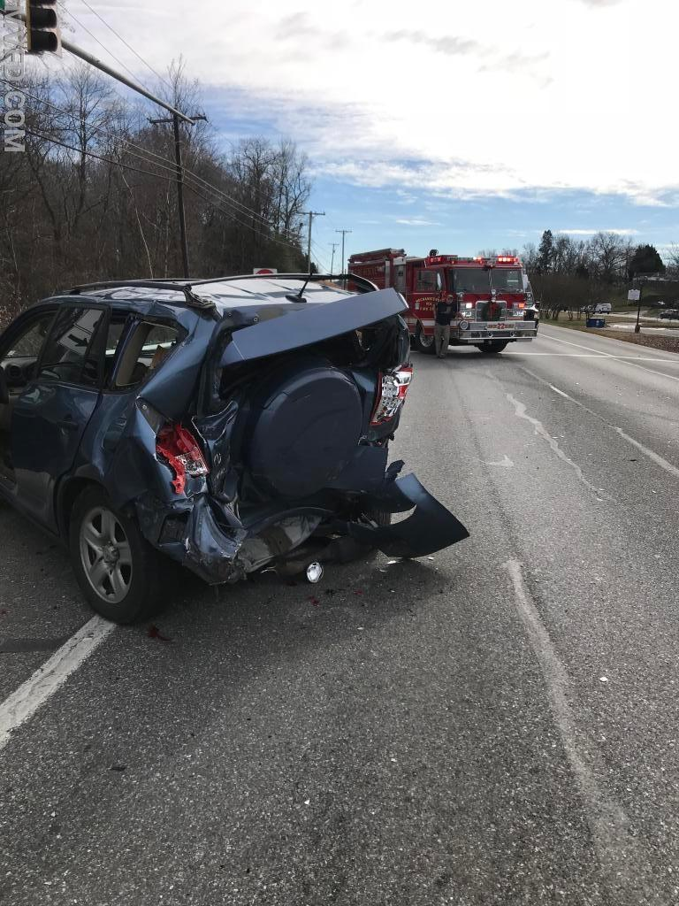 One trauma patient was flown after this December collision.