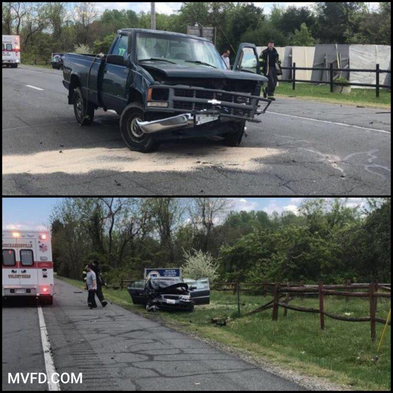 One Flown to Trauma Center After Crash in Mechanicsville