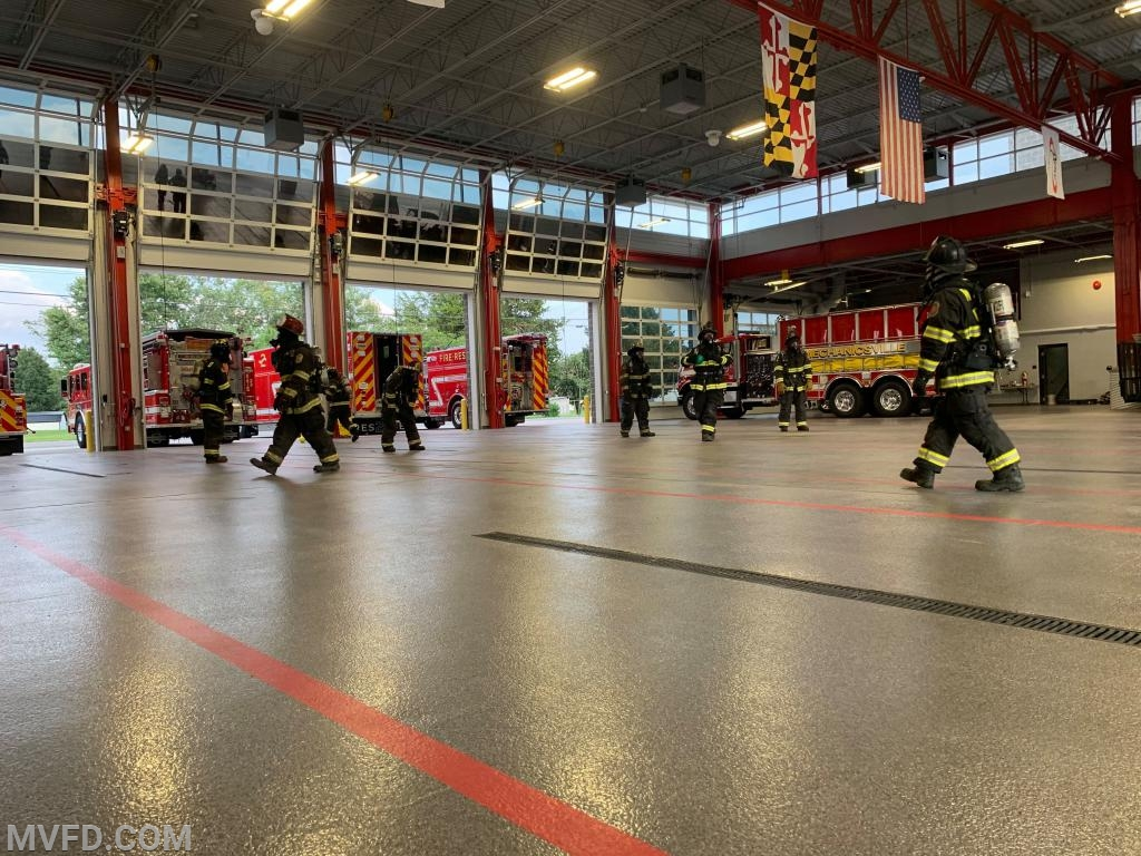SCBA Comfort and Air Conservation Drill