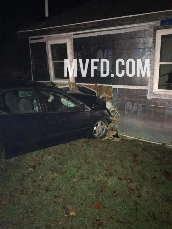 No Injuries Reported After Vehicle Strikes House in Chaptico